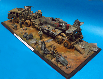 Dioramas & Scale Model projects